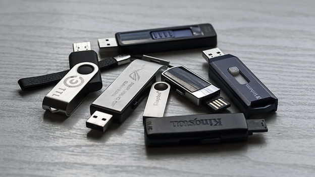 USB Data destruction